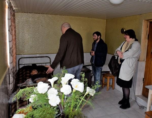მუნიციპალიტეტის მერმა 101 წლის ქალბატონს იუბილე მიულოცა